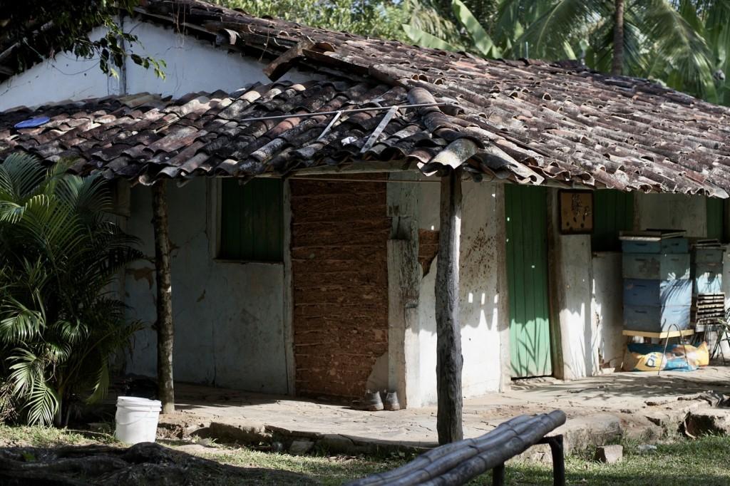casa de pau-a-pique em quilombo baiano