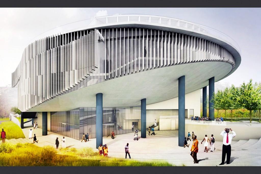 projeto do kumasi city hall