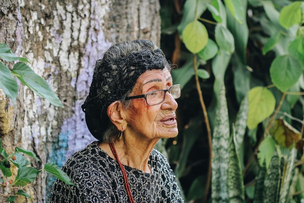 dona maria esther ajudou na preservação do samba