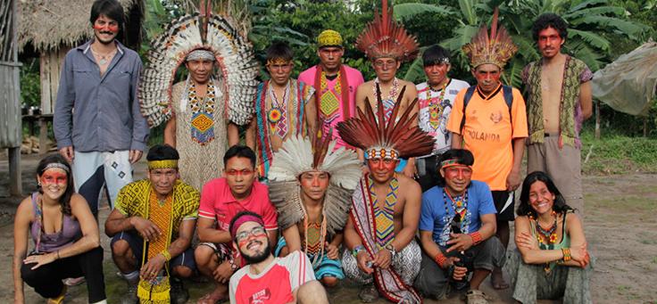 aldeias Kaxinawá