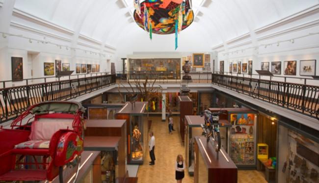 galeria do mundo dentro do horniman museum