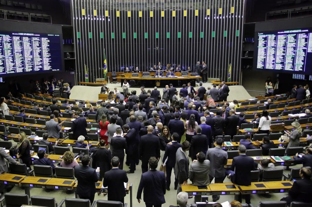 reunião na câmara dos deputados