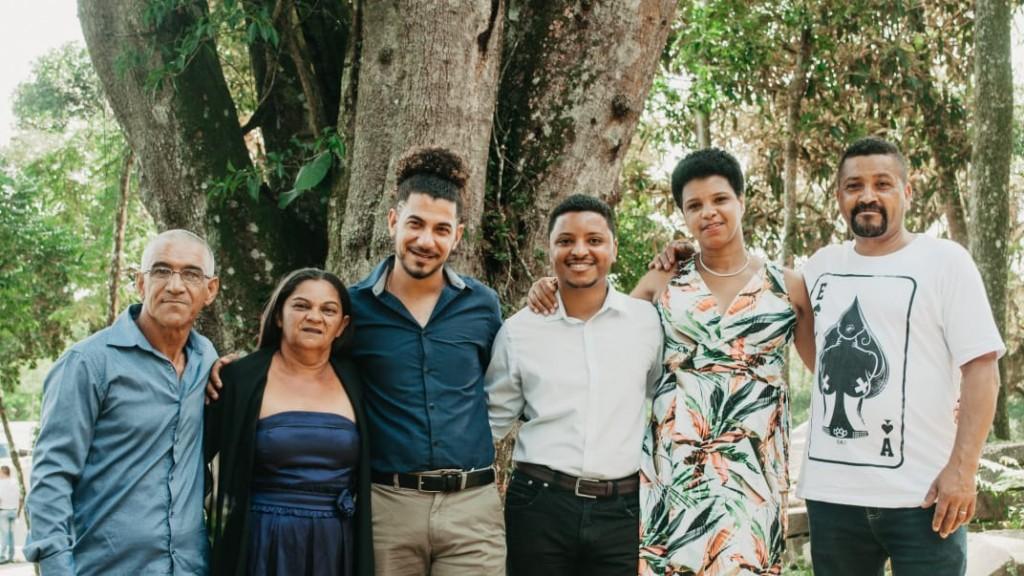 família de eduardo e rodrigo nas fotos