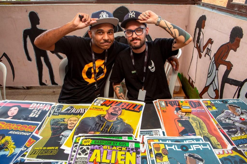 criador de quadrinhos de rap na perifacon