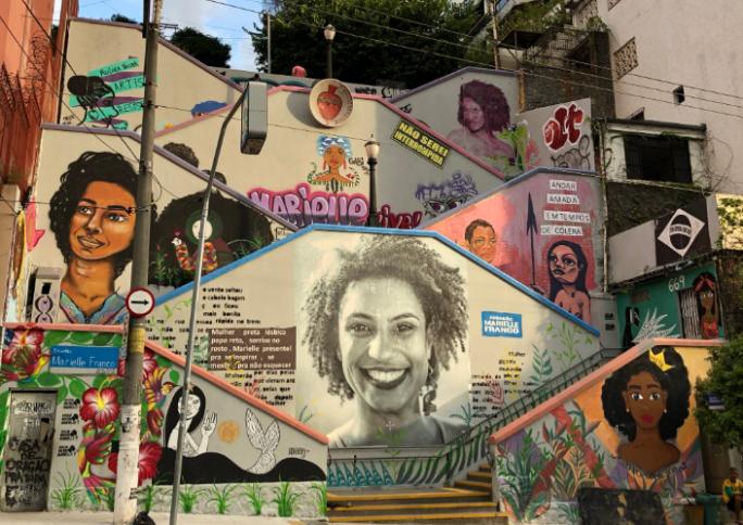 A história da escadaria Marielle Franco, em São Paulo
