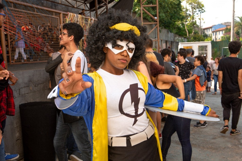 cosplayers na perifacon