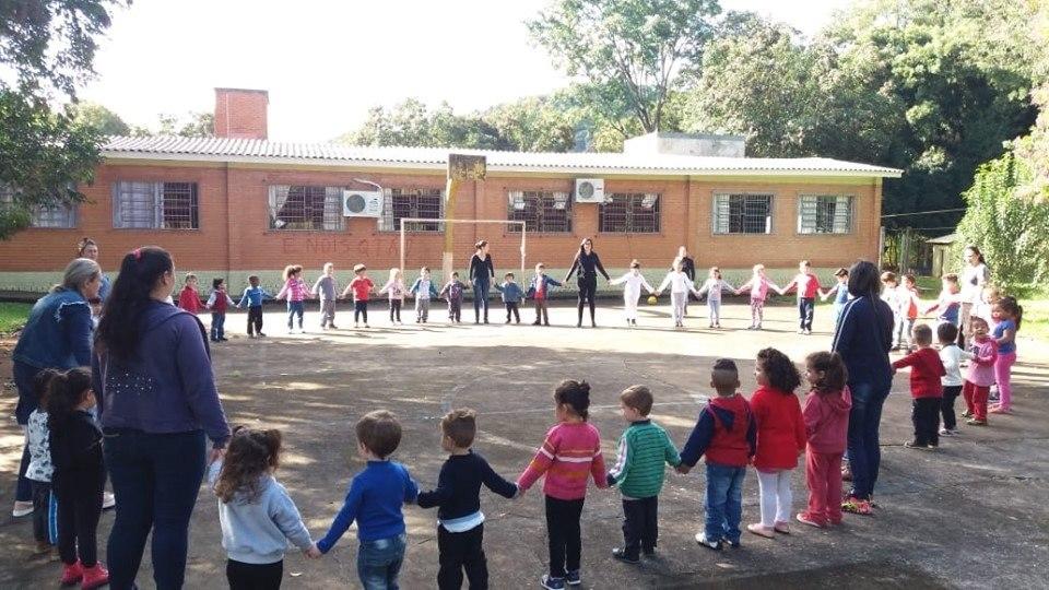 reunião em escola infantil de marau (rs)