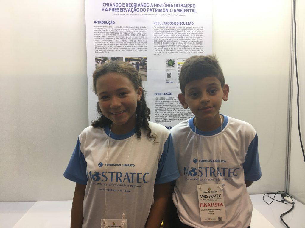 crianças criam aplicativo para preservar a história do bairro