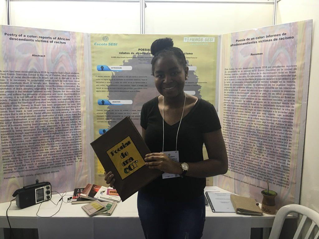 aluna cria projeto de literatura para combate ao racismo