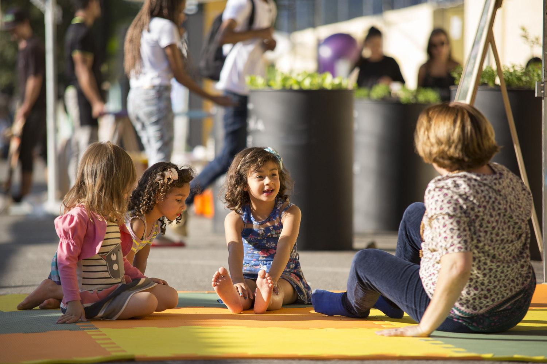 cidades para crianças são intergeracionais