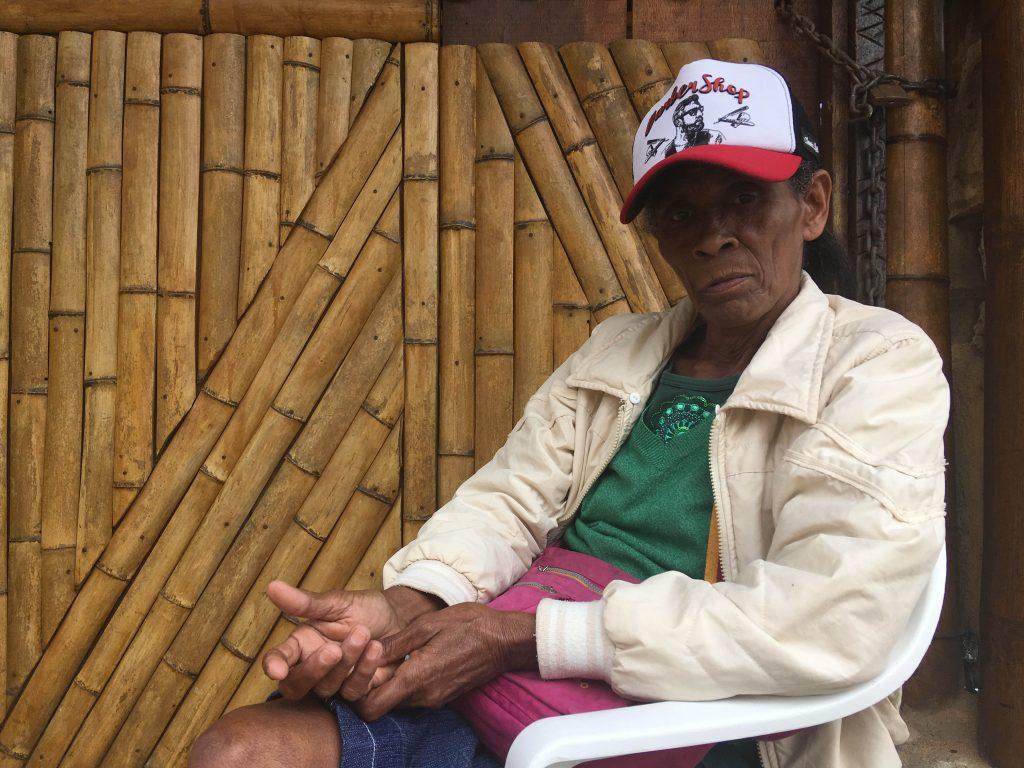 Dona Vilma está articulando sua comunidade pela defesa do território de Camburi / Crédito: Cecília Garcia