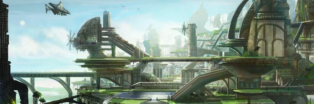 solarpunk é um conceito de utopia ecológica