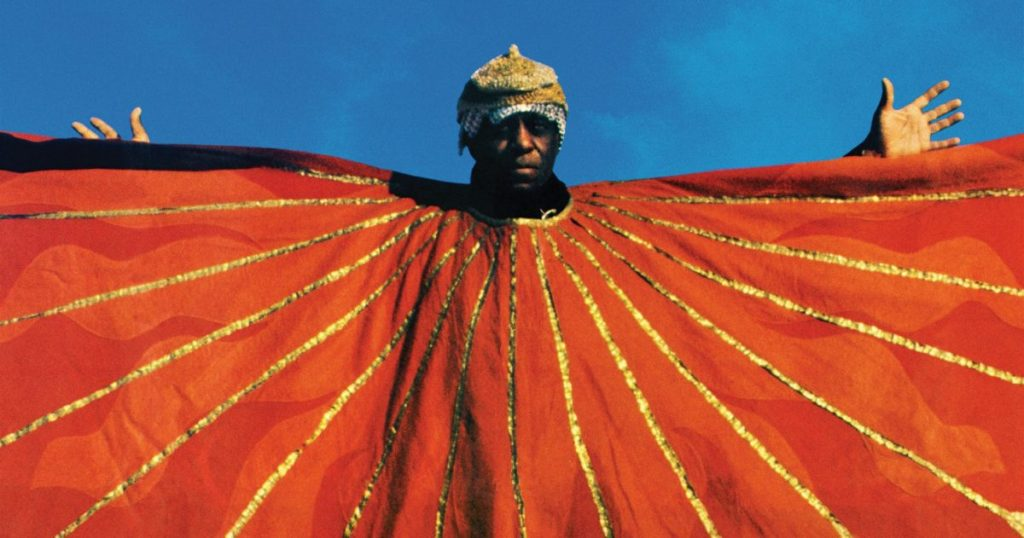 o música de jazz sun ra no filme space is the place