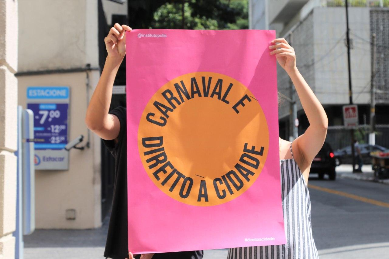 carnaval é direito à cidade crédito instituto pólis