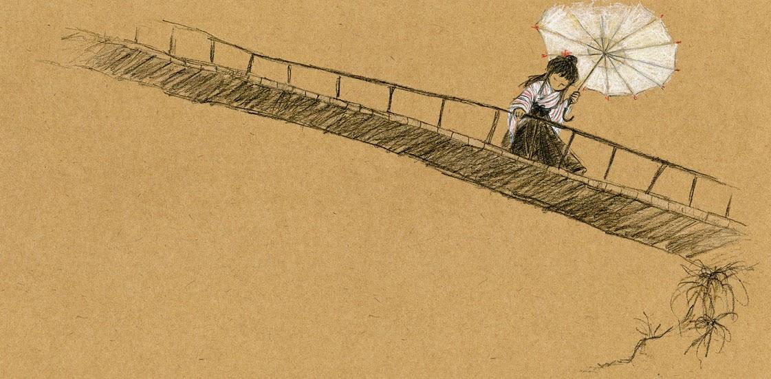 Ilustração do livro Orie, da autora Lúcia Hiratsuka / Crédito: Divulgação