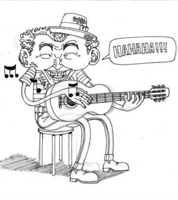 ilustração do artista mangraff