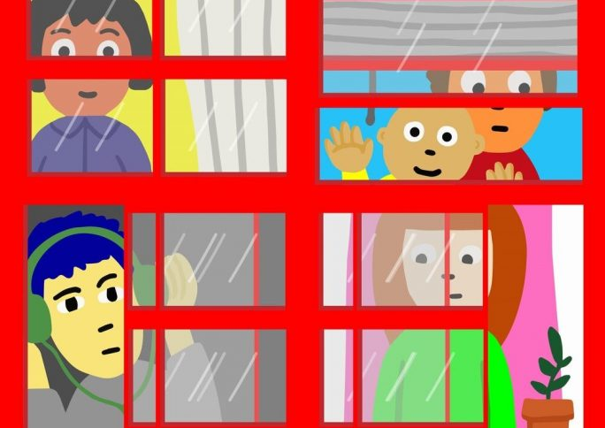 Projeto espanhol reúne auto entrevistas de crianças durante a quarentena