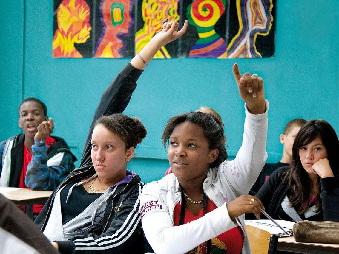 Frame do filme francês Entre os Muros da Escola