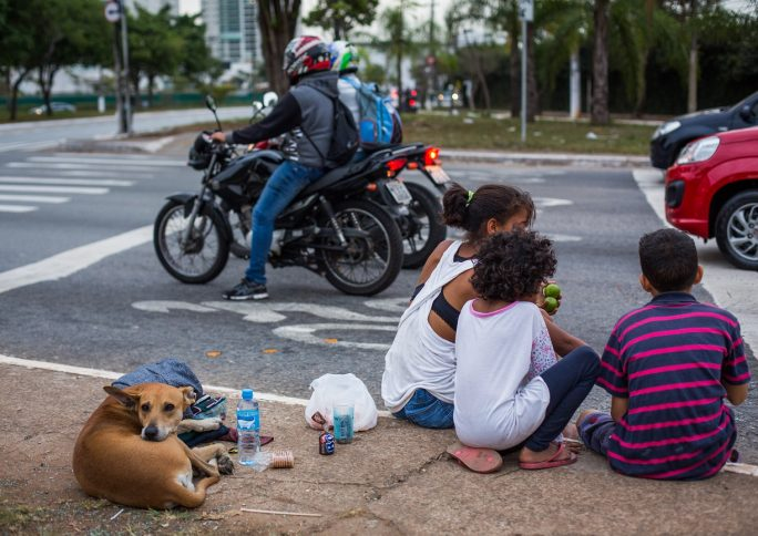 Como a pandemia impacta crianças em situação de rua