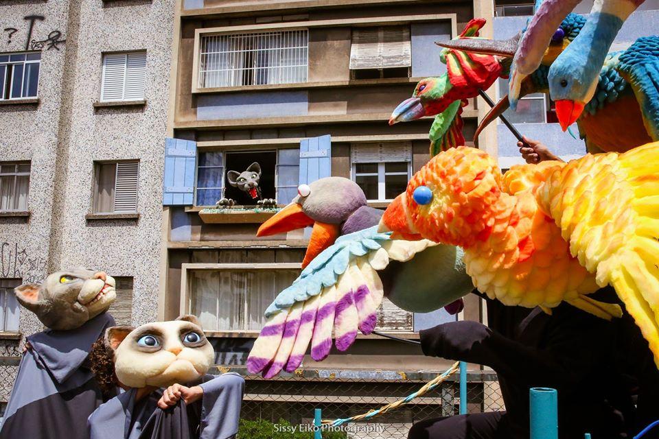 Grupo Esparrama é um dos grupos que intersecciona teatro para as infâncias e direito à cidade / Crédito as fotos da matéria: Sissy Eiko