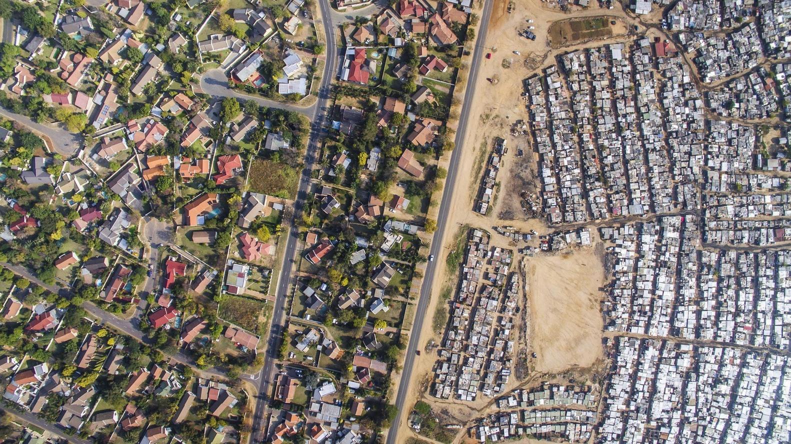 assentamento de áfrica de sul