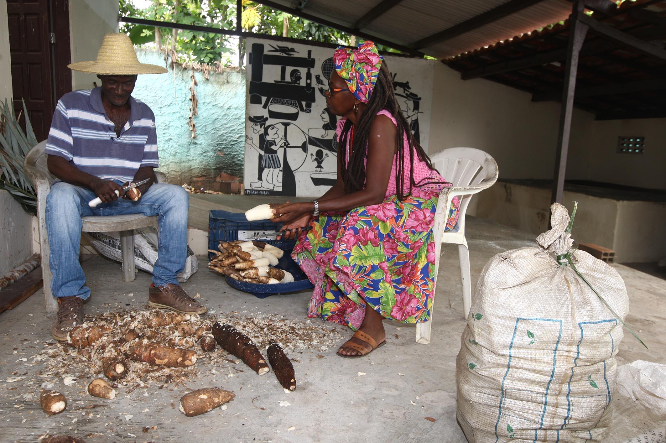 casa de farinha em quilombo de cordoaria