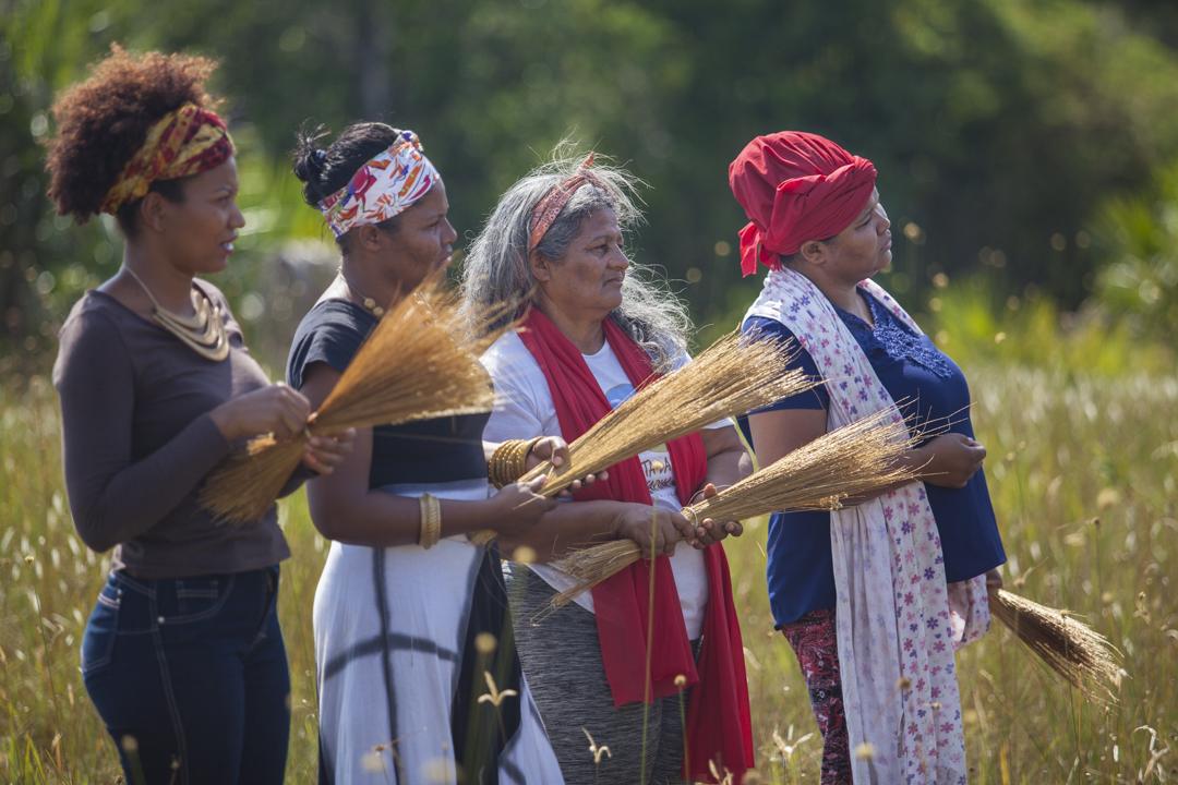 Práticas coletivas fazem parte da organização do Quilombo Mumbuca / Crédito: Ismael dos Anjos